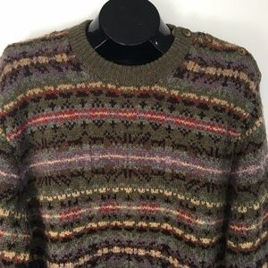Polo Ralph Lauren Fair Isle Geometric Knit Sweater